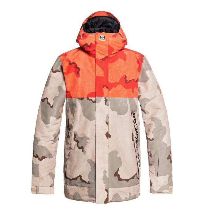 0 Сноубордическая куртка Defy Коричневый EDYTJ03073 DC Shoes