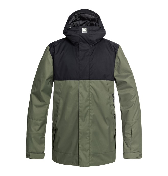 0 Defy Snow Jacket Green EDYTJ03073 DC Shoes