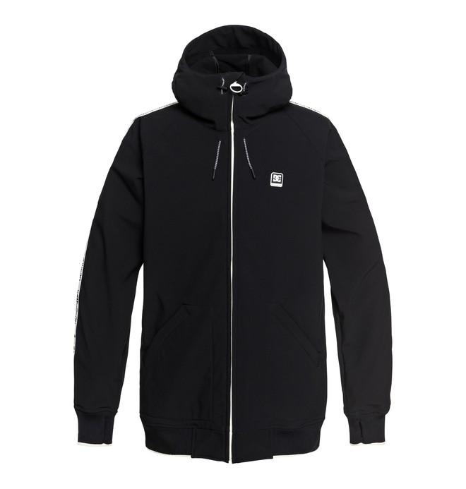 0 Spectrum - Softshell Bomber Snow Jacket for Men Black EDYTJ03075 DC Shoes