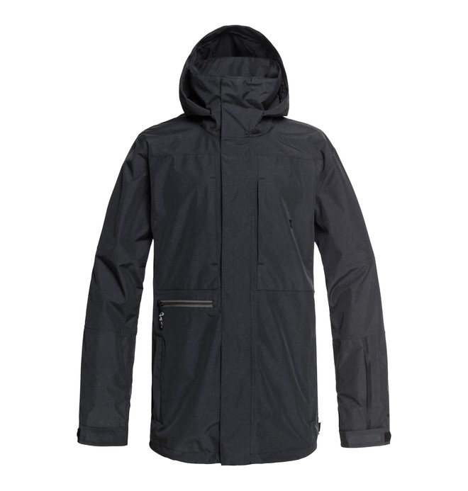 0 Command Snow Jacket Black EDYTJ03077 DC Shoes