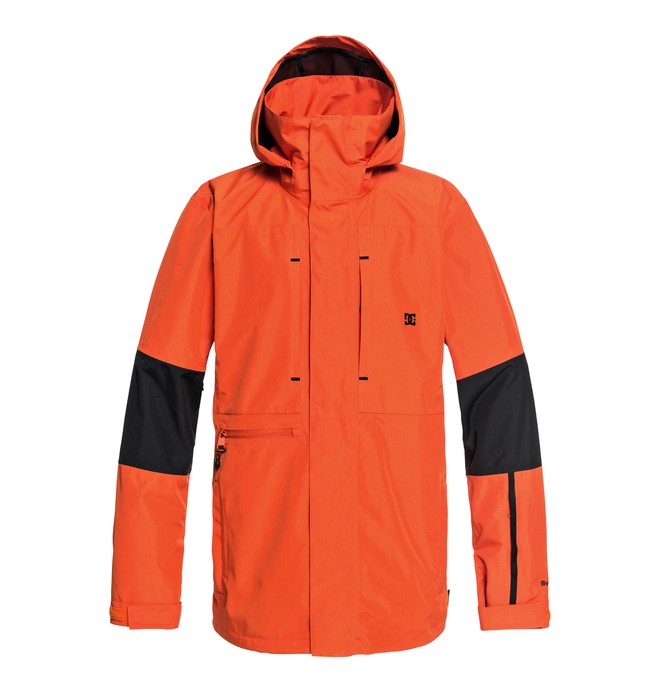 0 Command Snow Jacket Orange EDYTJ03077 DC Shoes