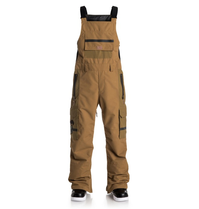 0 Men's Platoon Bib Snow Pants  EDYTP03010 DC Shoes
