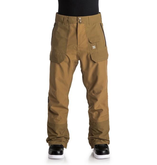 0 Men's Asylum Snow Pants  EDYTP03011 DC Shoes