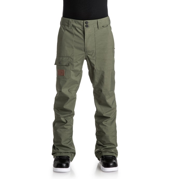 0 Men's Dealer Snow Pants  EDYTP03012 DC Shoes