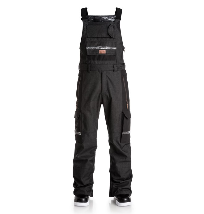 0 Men's Platoon SPT Bib Snow Pants  EDYTP03014 DC Shoes