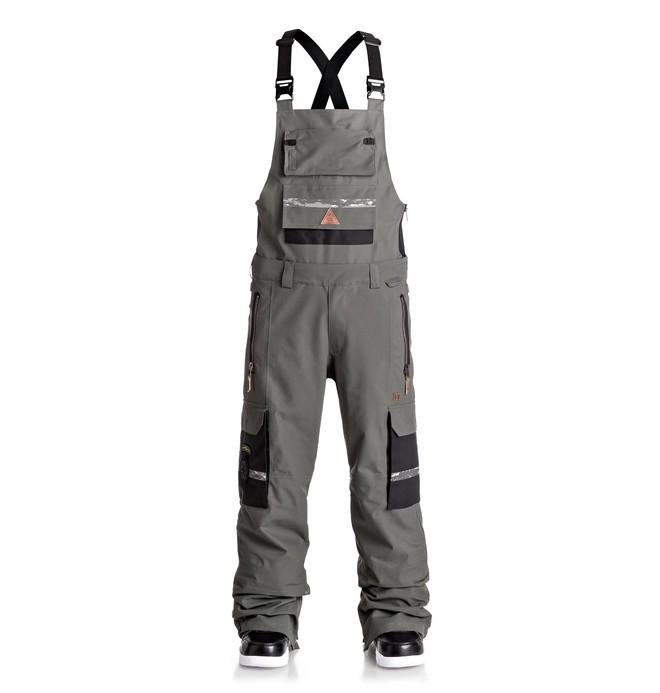 0 Men's Platoon SPT Bib Snow Pants Black EDYTP03020 DC Shoes