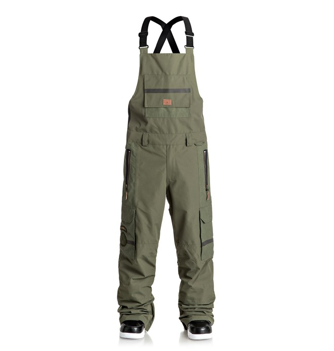 0 Men's Platoon Bib Snow Pants  EDYTP03021 DC Shoes