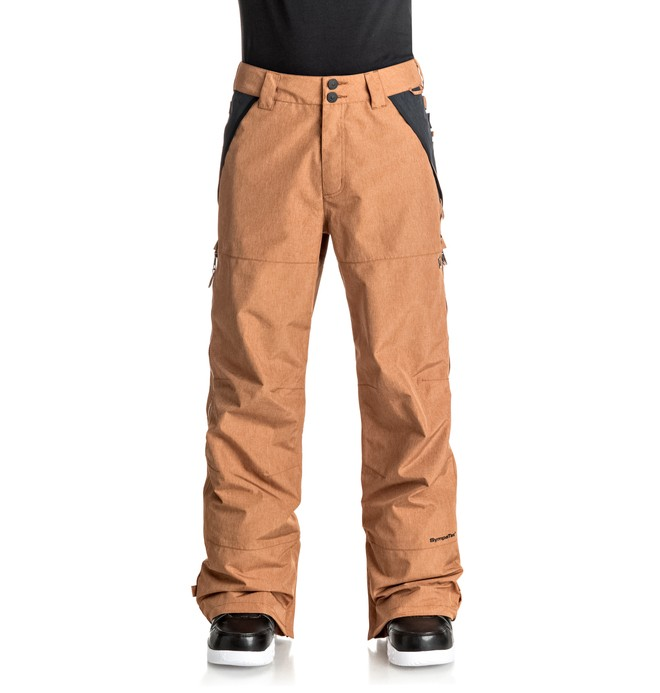 0 Nomad - Snow Pants for Men Brown EDYTP03023 DC Shoes