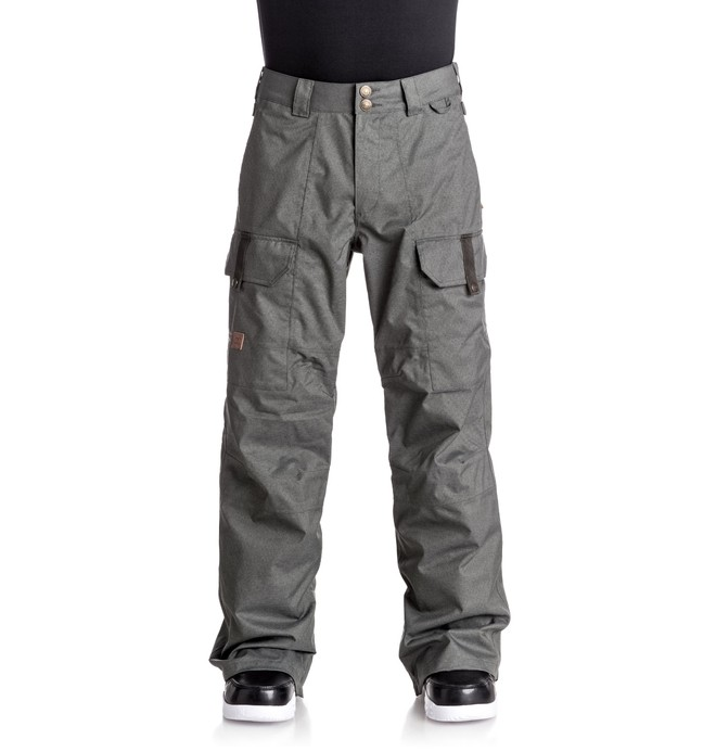 0 Сноубордические штаны Code Черный EDYTP03026 DC Shoes