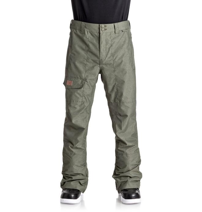 0 Dealer - Pantalon de snow Vert EDYTP03027 DC Shoes