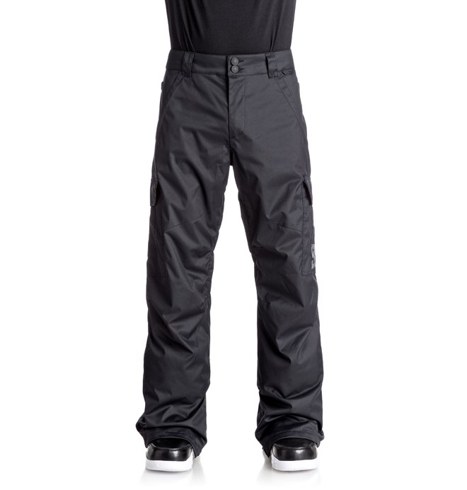 0 Men's Banshee Snow Pants Black EDYTP03028 DC Shoes