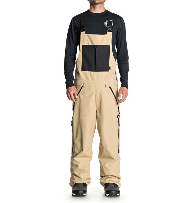 0 Men's Nomad Snow Bib Pants  EDYTP03030 DC Shoes
