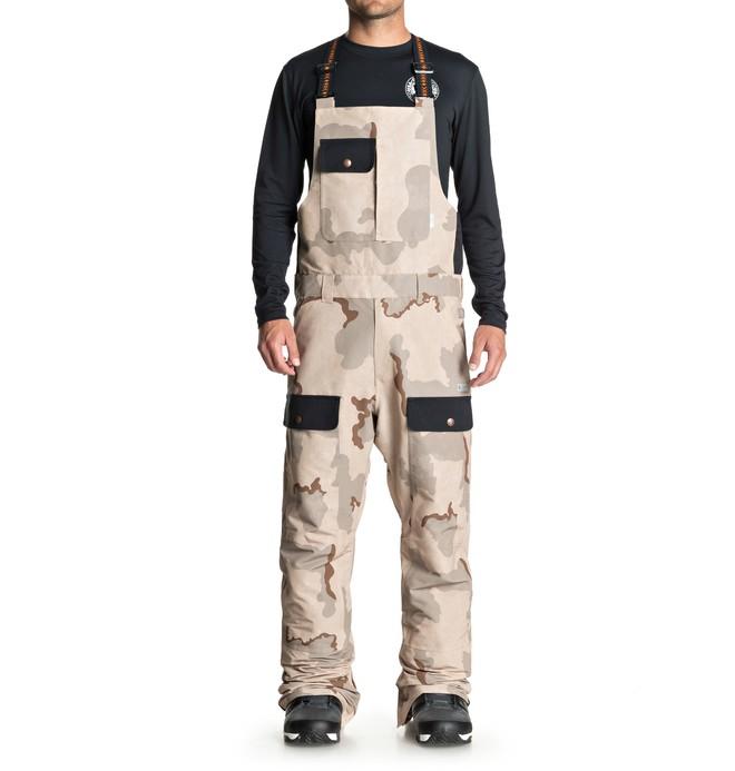 0 Men's Platoon Snow Bib Pants  EDYTP03031 DC Shoes