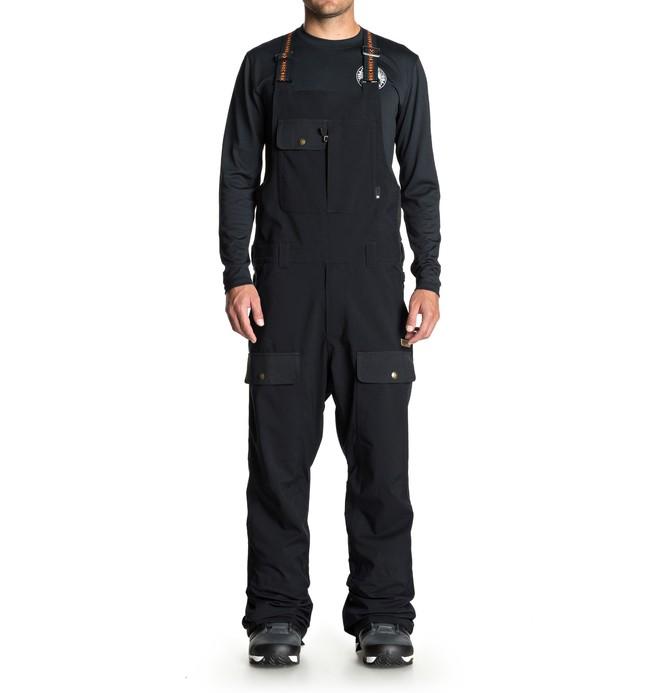 0 Platoon Snow Bib Pants Black EDYTP03031 DC Shoes