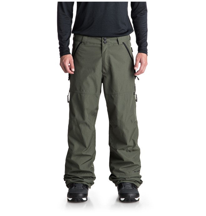 0 Nomad Snow Pants Green EDYTP03032 DC Shoes
