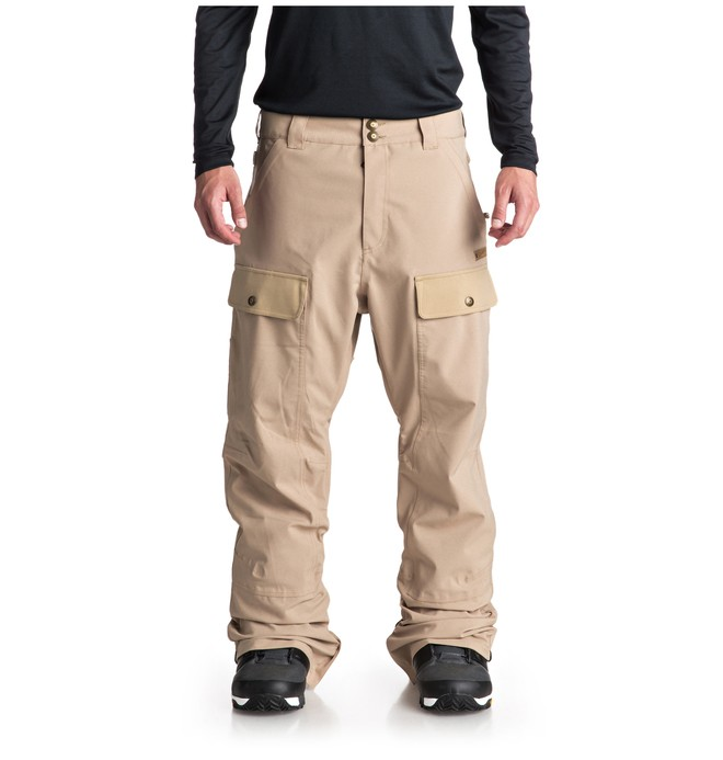 0 Asylum Snow Pants Brown EDYTP03033 DC Shoes