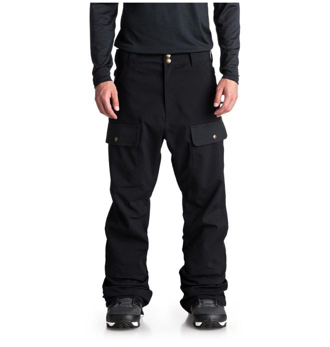 0 Asylum Snow Pants Black EDYTP03033 DC Shoes