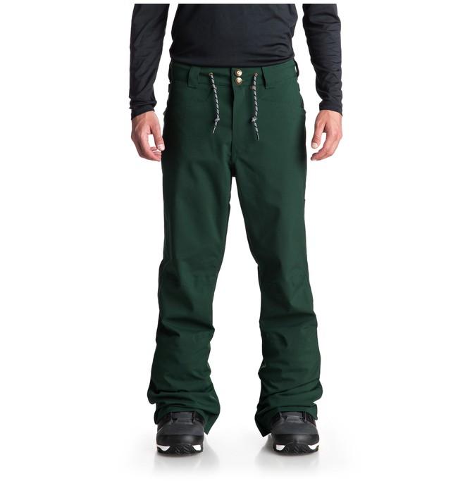 0 Relay Snow Pants Green EDYTP03034 DC Shoes