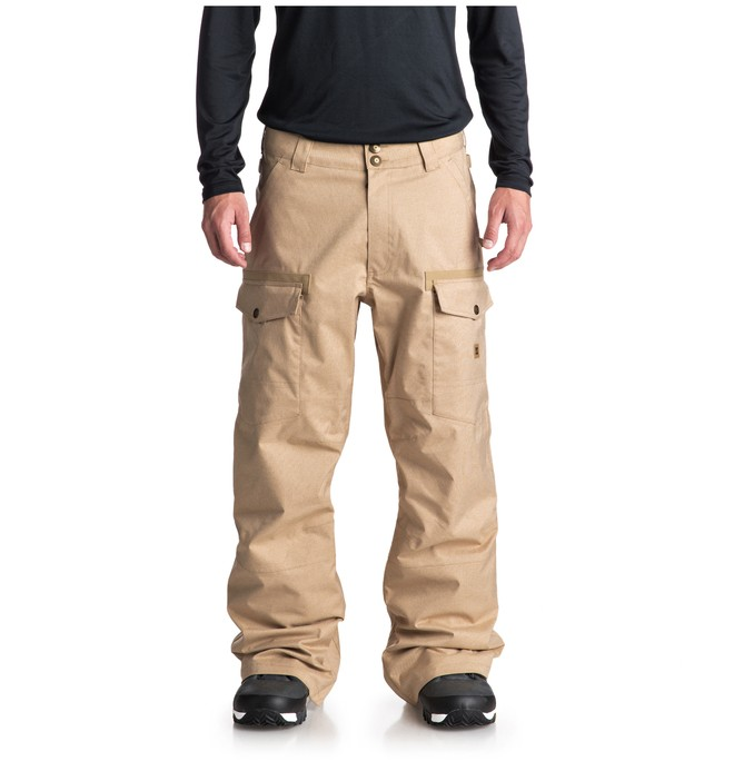 0 Code Snow Pants Brown EDYTP03035 DC Shoes