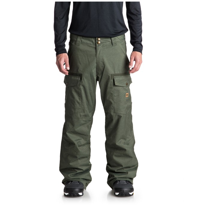 0 Code Snow Pants Green EDYTP03035 DC Shoes
