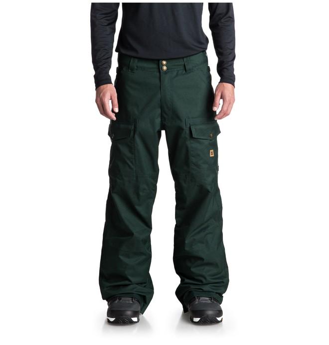 0 Code Snow Pants Green EDYTP03035 DC Shoes