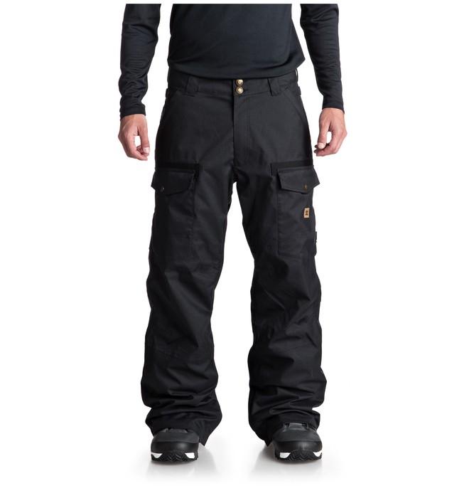 0 Code Snow Pants Black EDYTP03035 DC Shoes