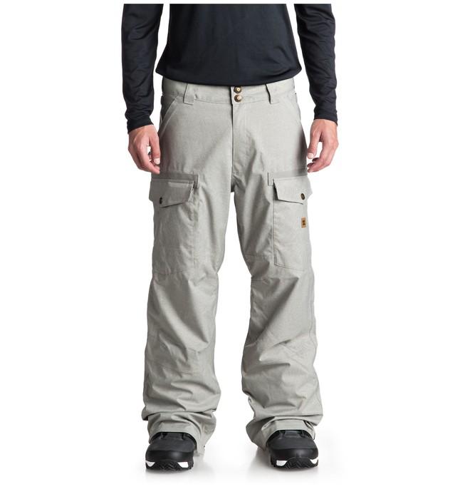 0 Code Snow Pants Grey EDYTP03035 DC Shoes