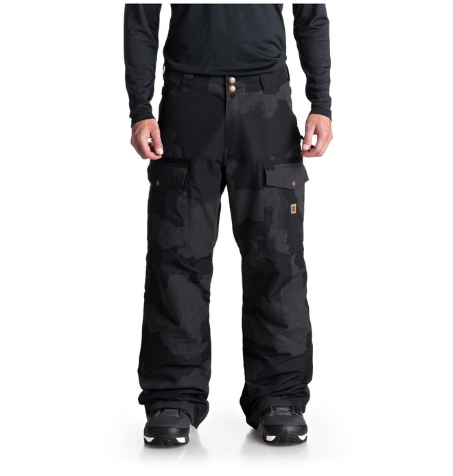 0 Code SE Snow Pants Black EDYTP03038 DC Shoes
