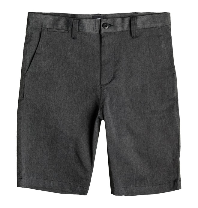 0 Men's Worker Heather Straight Fit Shorts  EDYWS03036 DC Shoes