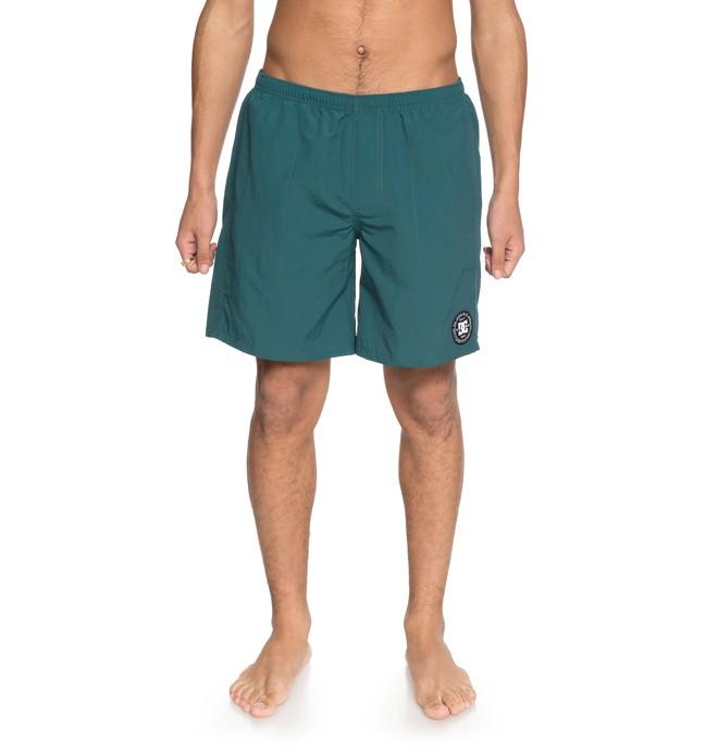 "0 Men's Lite Way 18"" Shorts Green EDYWS03092 DC Shoes"