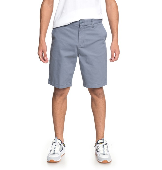 "0 Worker 20.5"" Chino Shorts Blue EDYWS03101 DC Shoes"