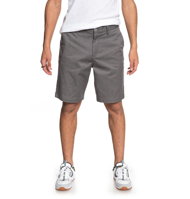 "0 Worker Heather 19"" Chino Shorts  EDYWS03102 DC Shoes"