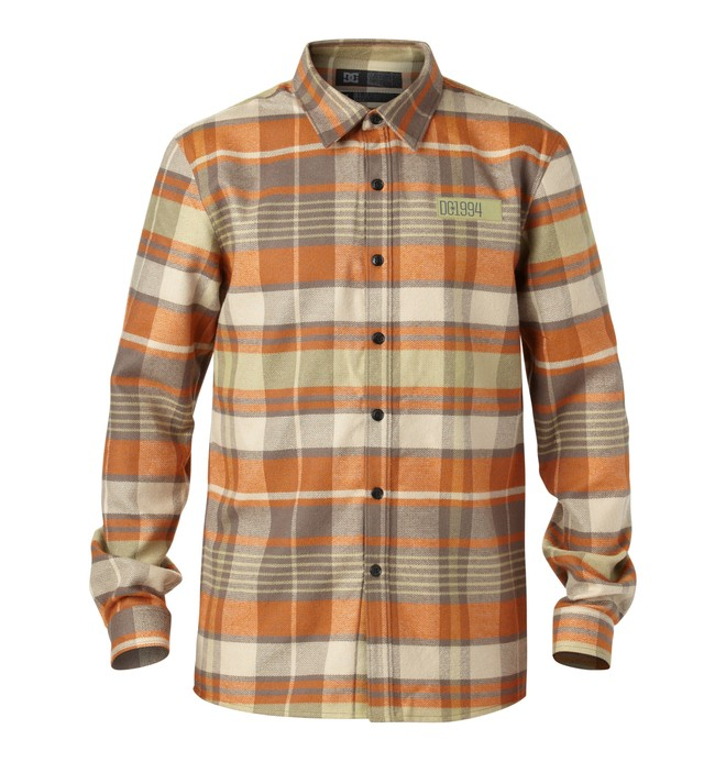 0 Men's Manual Riding Flannel  EDYWT00015 DC Shoes