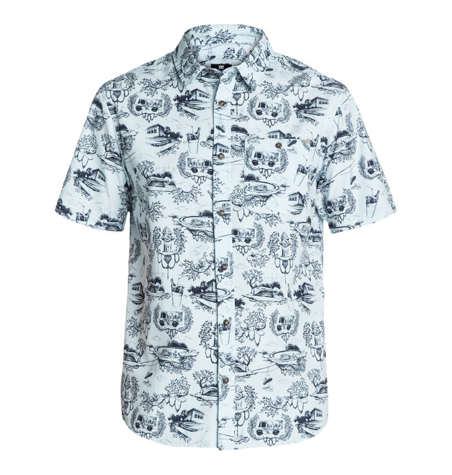 0 Toile Paper SS Shirt  EDYWT03012 DC Shoes