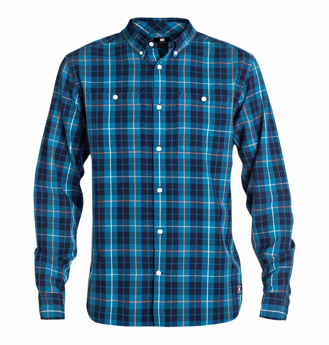 0 Men's South Ferry Long Sleeve Shirt  EDYWT03017 DC Shoes