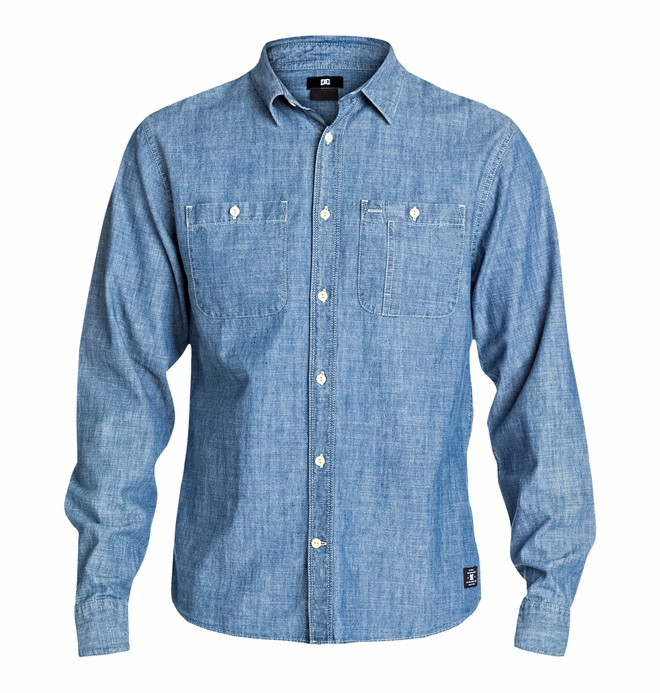 0 Men's Clinton Hill Ls Shirt  EDYWT03022 DC Shoes