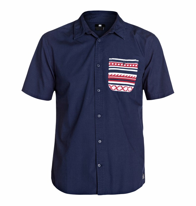 0 Men's Farjacq Short Sleeve Shirt  EDYWT03033 DC Shoes