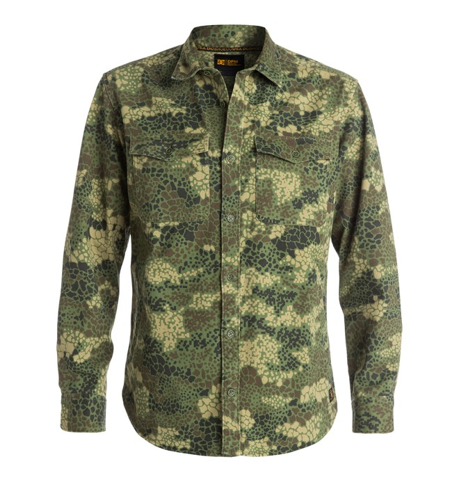 0 Men's Mastoid DPM Camo Shirt  EDYWT03041 DC Shoes