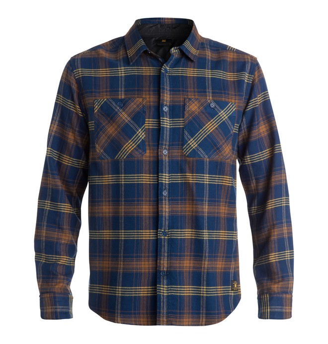 0 Men's Vibration Flannel Shirt  EDYWT03045 DC Shoes