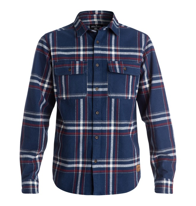 0 Men's Wes Flannel Shirt  EDYWT03053 DC Shoes