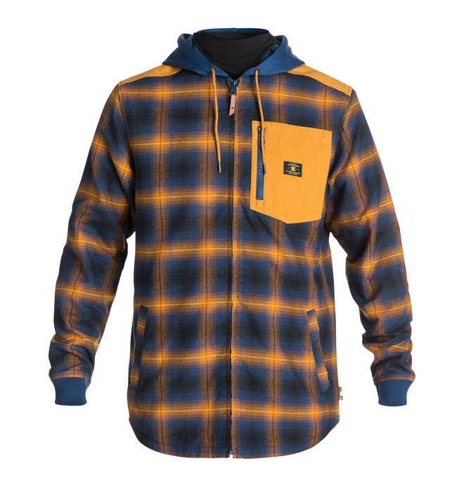 0 Men's Backwoods Riding Shirt  EDYWT03060 DC Shoes