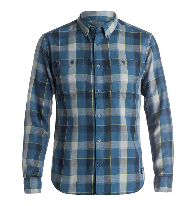 0 Men's Midweight Long Sleeve Flannel Shirt  EDYWT03071 DC Shoes