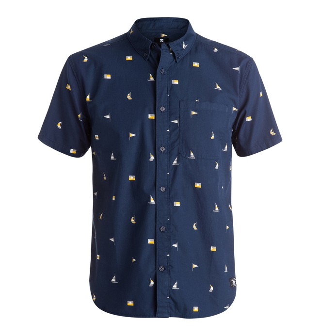 0 Vacation - Camisa de manga corta  EDYWT03083 DC Shoes