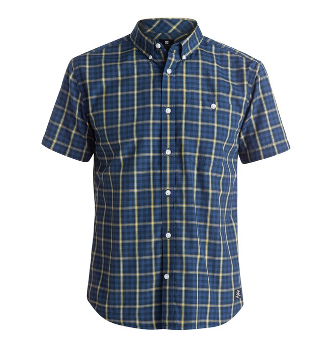 0 Men's Atura 2 Short Sleeve Shirt  EDYWT03085 DC Shoes