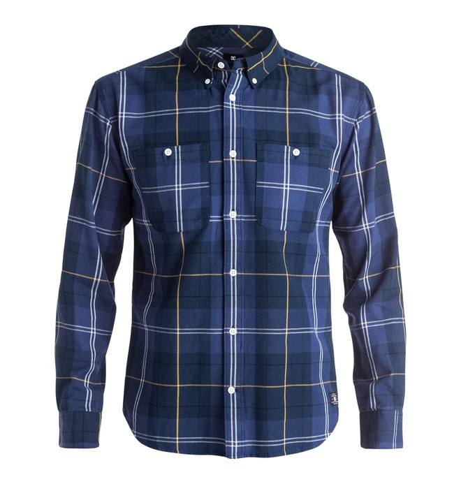 0 South Ferry - Camisa de manga larga  EDYWT03087 DC Shoes