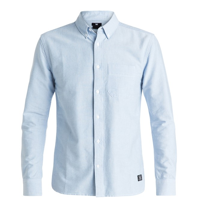 0 Men's Oxford Long Sleeve Shirt  EDYWT03104 DC Shoes
