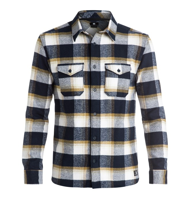 0 Men's Marsha Flannel Long Sleeve Shirt  EDYWT03110 DC Shoes