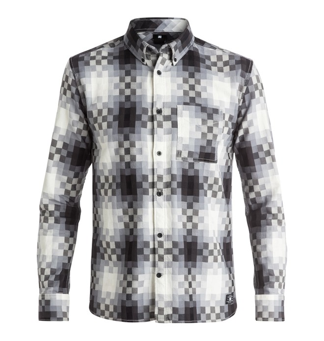 0 Men's Stoneledge Flannel Long Sleeve Shirt  EDYWT03117 DC Shoes