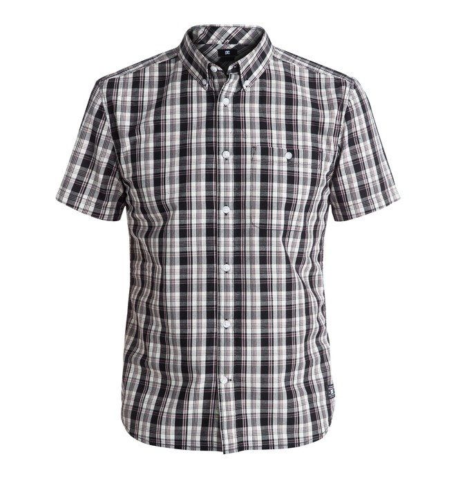 0 Men's Atura 4 Short Sleeve Shirt  EDYWT03120 DC Shoes