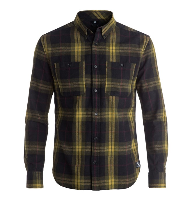 0 Men's South Ferry 4 Long Sleeve Shirt  EDYWT03122 DC Shoes